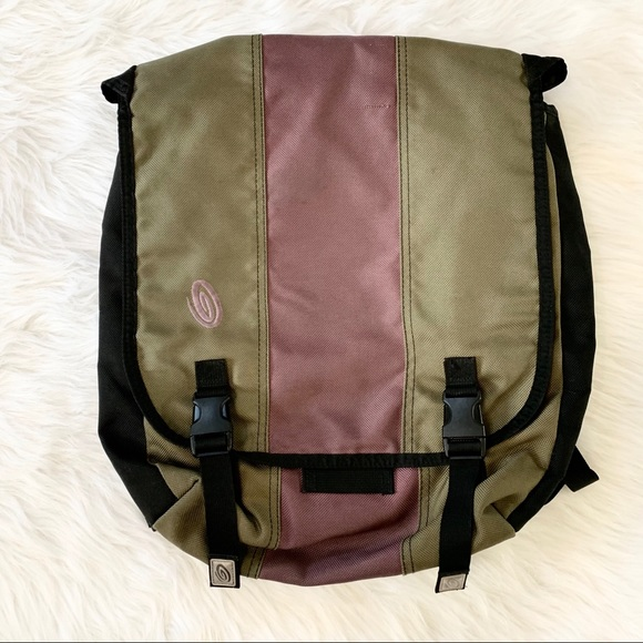 Timbuk2 Handbags - Timbuk2 Green Pink Color Block Laptop Backpack